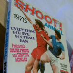 Football Shoot annual 1978 good unclipped price example spine intact